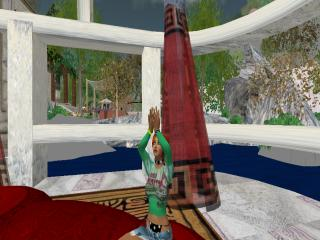 Meditating in SL
